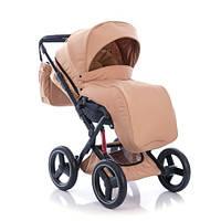 Детская прогулочная Универсальная коляска GB - ппятиточечный ремень, пружинная амортизация, люлька