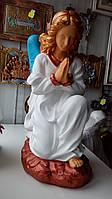 Статуя из бетона Ангел молящийся 51 см