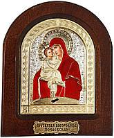 Икона «Пресвятая Богородица Почаевская»(с подставкой) арт. 144