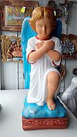 Статуя на могилу Ангел на колене  бетон 51 см