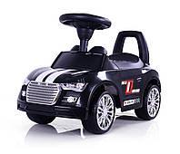 Детская  машинка каталка Sporty Ride-On Racer  черная   Milly Mally  Польша