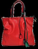 Симпатичная женская сумка из экокожи красного цвета MMJ-872911