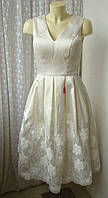 Платье вечернее шикарное Chi Chi р.42-44 7432