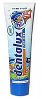 Детская зубная паста Dentalux for kids Pirate Fruits 100мл Германия