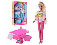 Кукла DEFA 8213 с пупсами