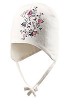 Хлопковая шапка для девочки Lassie 718710-0110. Размеры ХS и S ., фото 1
