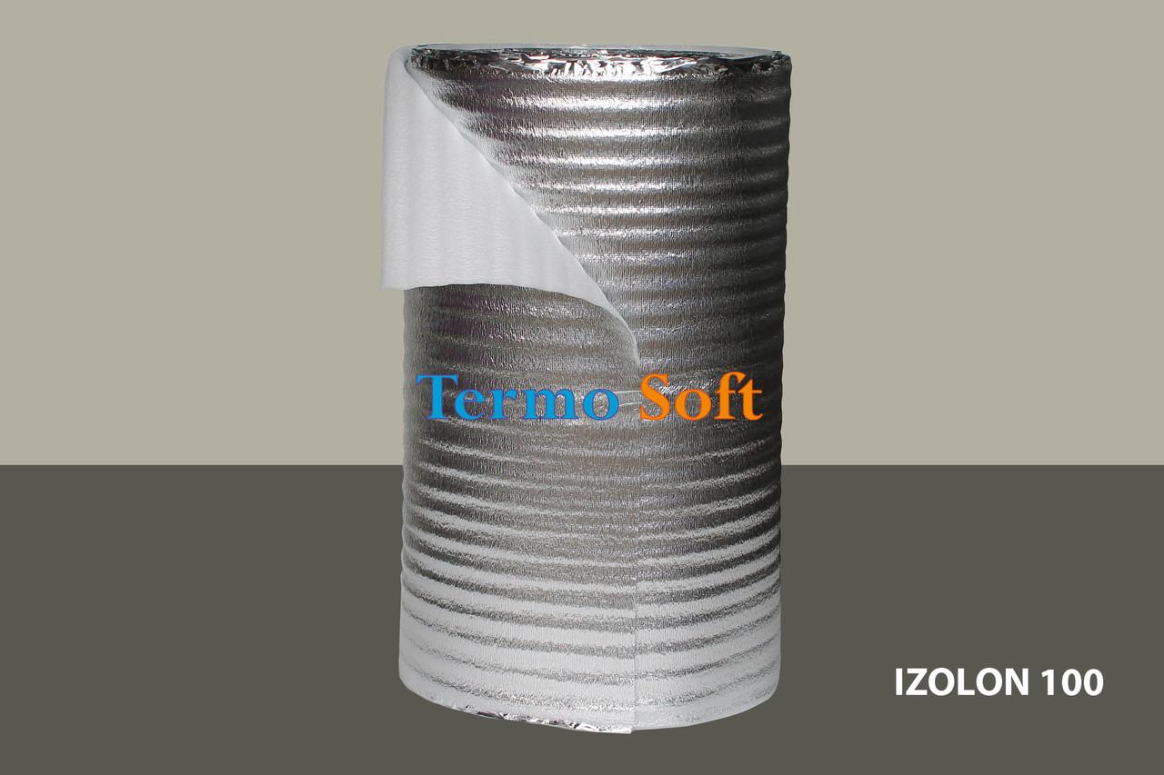 Теплоизоляция с ламинацией. Вспененный полиэтилен нпэ ламинированный,толщина полотна-8мм.