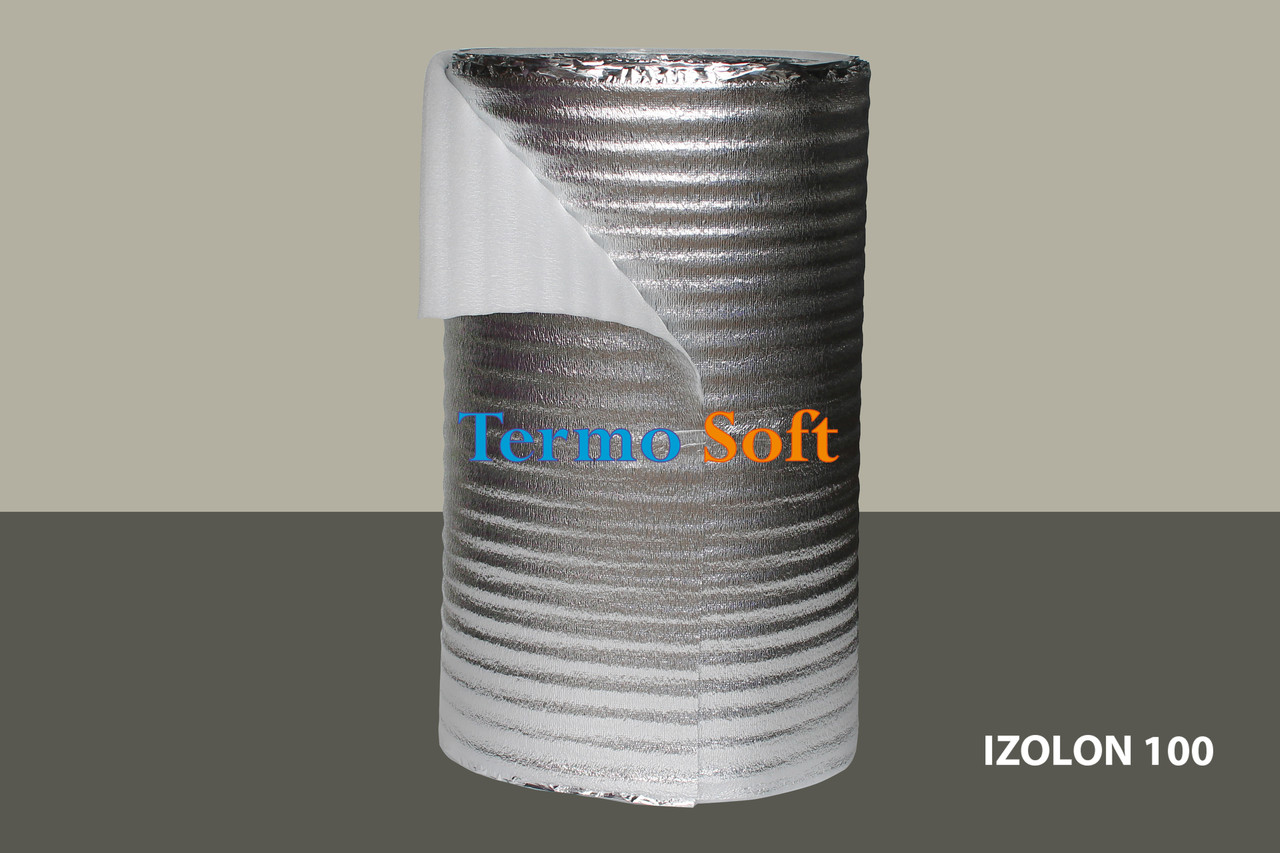 Вспененный полиэтилен нпэ ламинированный,толщина полотна-5мм.