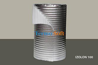 Вспененный полиэтилен нпэ ламинированный,толщина полотна-1мм.