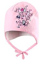 Хлопковая шапка для девочки Lassie 718710-4070. Размеры ХS - M ., фото 1