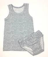 Комплект нижнего белья для мальчика Doni Меланж, большемерит (р.6/7 лет)