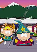 Картина 40х60 см Южный парк Кенни в шляпе