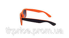 Солнцезащитные очки унисекс Wayfarer матовые, фото 3