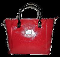 Женская сумочка из искусственной кожи D&K красного цвета KCY-900643