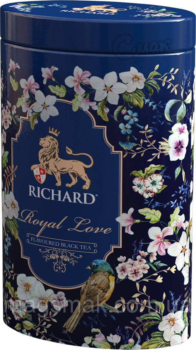Чай Richard Royal Love, ж/б, листовой,  80 г
