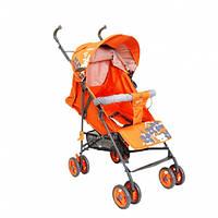 Детская Прогулочная коляска-трость Geoby - бампер, ремень, амортизация, матрасик, москитка