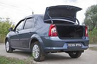 Обшивка внутренней части крышки багажника Renault Logan 2010-2013 г.в. Рено Логан