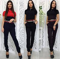 Женские брюки высокой посадки