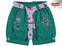 Шорты для девочки на 1, 2, 3, 4 года . Детская одежда Турция.
