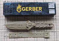 Нож тактический Gerber De Facto S116 с стеклобоем, серрейтор