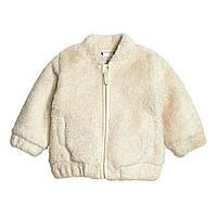 Меховая курточка H&M 6-9мес, 12-18мес