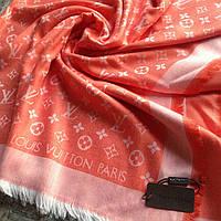 Женский палантин Louis Vuitton женский шарф оранжевый женский шарф серый женский шарф белый брендовые палантин