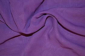 Шифон фиолетовый