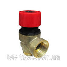 8707401027 Предохранительный клапан 3 бар (клапан безопасности) Junkers, Bosch Euroline ZW23-1KE/AE