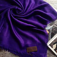Брендовые палантины женский шарф фиолетовый палантин Louis Vuitton