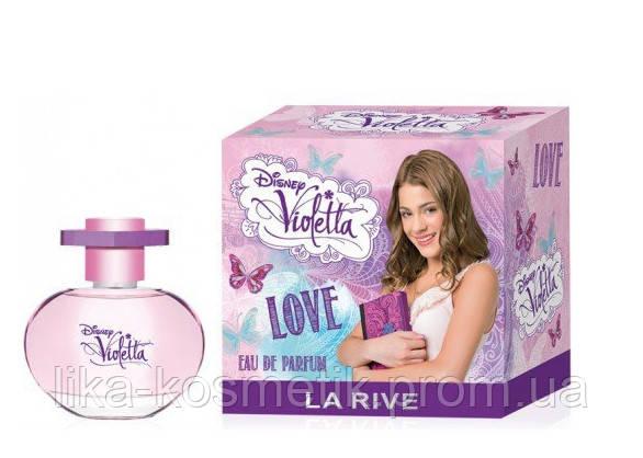 La Rive Violetta Love 50мл. парфюмированая вода - LIKA СOSMETICS в Житомире