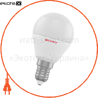 Electrum Лампа светодиодная шар LB-12 6W E14 3000K алюмопласт. корп. A-LB-1008