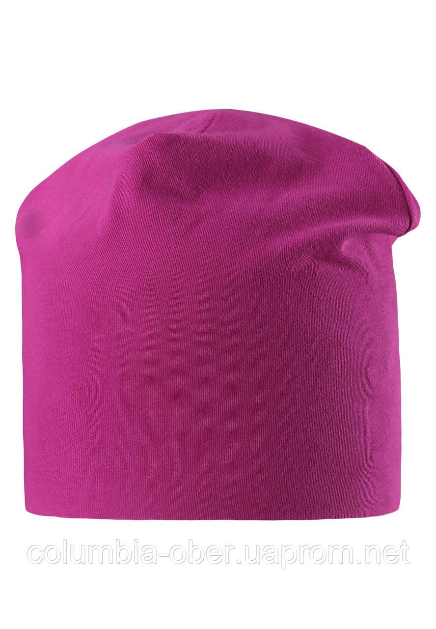 Демисезонная шапка для девочки Lassie 728704-4861. Размер L.