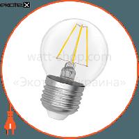 Electrum Лампа светодиодная шар-ретро LB-4F 4W E27 2900K A-LB-0412