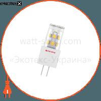 Electrum Лампа светодиодная капсула LC-13 2W GU4 12V 2700K керам. корп. A-LC-0232