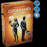 Настольная игра Кодовые имена: Картинки (англ)  Codenames: Pictures (eng)  10+ от 2-8 игроков 15 мин