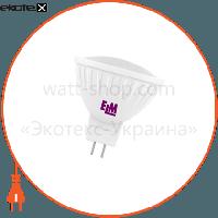 ELM Лампа светодиодная MR-16 PA-21 5W GU5,3 4000K алюмопласт. корп. 18-0003