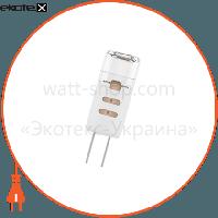 ELM Лампа светодиодная капсула P41 1,5W GU4 12V 3000K пласт. корп. 18-0035