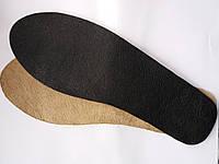 Стельки кожаные  из натуральной кожи
