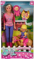 Кукла Simba Штеффи и Еви: Уроки верховой езды (5738051)