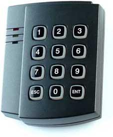 Matrix 4 EH Keys IronLogic — клавиатура + считыватель карт HID ProxCard 2 и Em-marine 125KHz