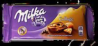 Шоколад молочный Milka Collage (Милка с печеньем и карамелью) 93г (Швейцария)