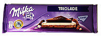 Шоколад Milka Triolade (Милка три шоколада) 300г (Швейцария)