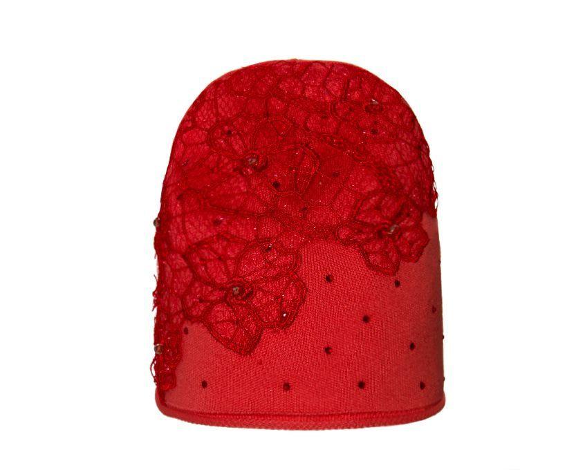 Детский комплект для девочки (шапка и снуд) Цветы цвета в ассортименте