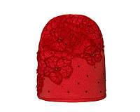 Детский комплект для девочки (шапка и снуд) Цветы цвета в ассортименте, фото 1