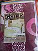 """Постельный набор """"GOLD"""", двуспальный, 180х220, абстрактные рисунки"""