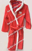 Махровый детский халат для девочки Hello Kitty 61253