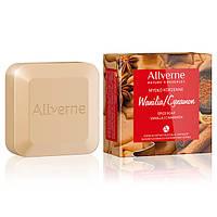 Allverne Пряное мыло для рук с ванилью и корицей