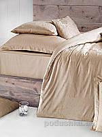 Постельное белье Issimo Home Magnus Brown Двуспальный евро комплект