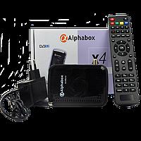 Спутниковый HD ресивер Alphabox X4 Micro картоприемник