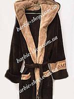 Удобный махровый мужской халат в расцветках 51452
